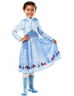 Die Eiskönigin™ Anna-Kostüm für Kinder Fasching blau
