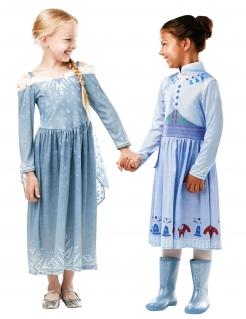 Elsa Kinderkostüm Frozen™ blau-weiss