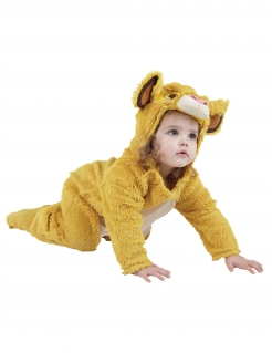 Kuscheliges Simba™-Kostüm für Kleinkinder und Babys König der Löwen™ gelb