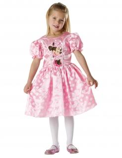 Minnie Maus™-Kostüm für Kinder Fasching rosa