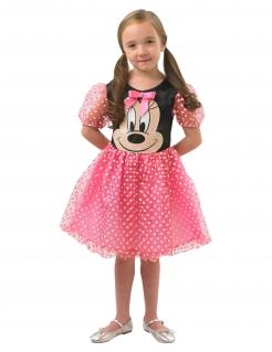 Minnie™-Prinzessinnen-Kostüm für Kinder rosa-schwarz-weiss