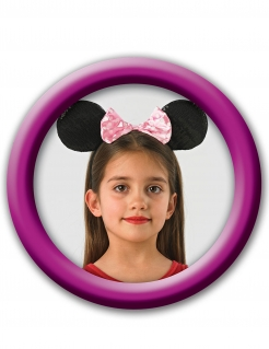 Minnie Maus™ Haarband für Mädchen schwarz-pink