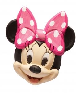 Minnie Maus™-Maske für Kinder schwarz-haut-rosa