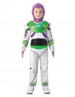Buzz Lightyear™-Kostüm für Kinder Toy Story™ Karneval weiss-grün-violett