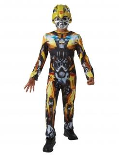 Bumblebee™-Kostüm für Kinder Transformers 5™ Karneval gelb-schwarz