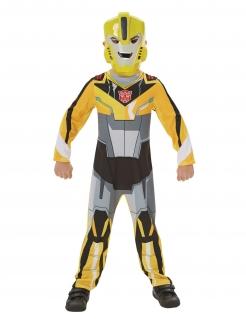 Bumblebee™ Transformers™-Kostüm für Kinder Karneval gelb-schwarz