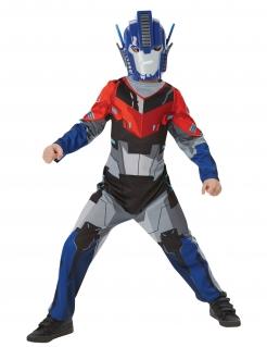 Optimus Prime™-Kostüm Transformers™ für Kinder Fasching blau-rot-schwarz