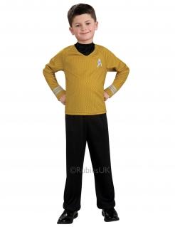 Captain Kirk™-Kostüm für Kinder Star Trek™ schwarz-gelb