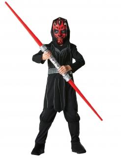 Darth Maul™-Kostüm für Kinder Star Wars™ Karneval schwarz-rot