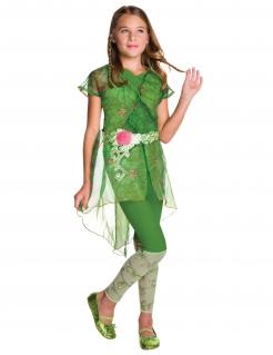 Super Hero Girls™-Kostüm Poison Ivy für Mädchen Fasching grün-pink