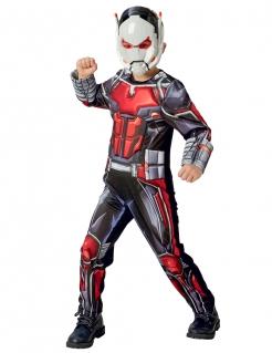 Ant Man™-Kostüm für Kinder Karneval schwarz-rot-weiss