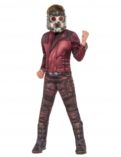 Starlord™-Kinderkostüm Guardians of the Galaxy™ rot-braun