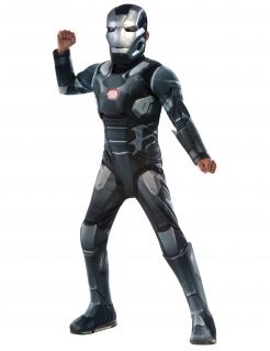 War Machine™-Kostüm für Kinder Karneval grau