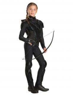 Hunger Games™-Handschuh für Kinder Katniss Accessoire schwarz