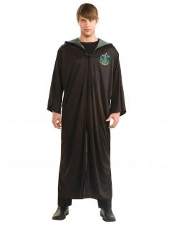 Slytherin-Kostüm für Erwachsene Harry Potter™ schwarz