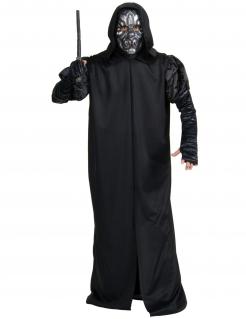 Todesser-Kostüm Harry Potter™ für Erwachsene schwarz-silberfarben