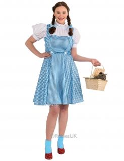 Dorothy Gale™-Damenkostüm für Erwachsene blau-weiss