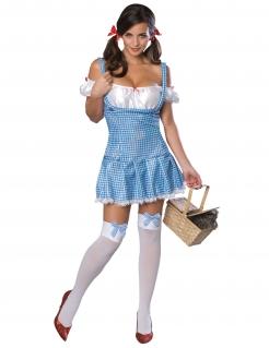 Dorothy Gale™-Kostüm von der Zauber von Oz™ blau-weiss