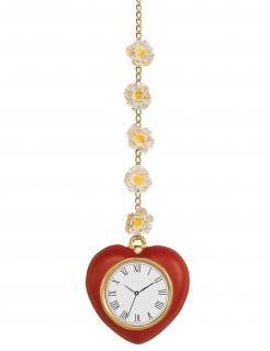 Herz-Uhr Der Zauberer von Oz™ Accessoire rot-gold