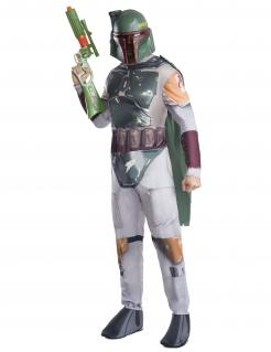 Boba Fett-Kostüm Star Wars™ für Erwachsene bunt