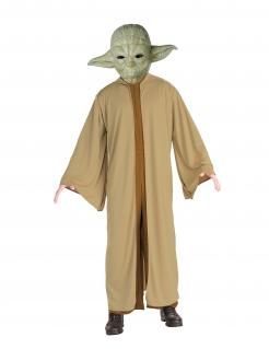 Yoda-Kostüm Star Wars™ für Erwachsene grün-braun