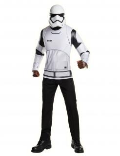 Stormtrooper™-Shirt und Maske für Herren Star Wars™ weiss-schwarz