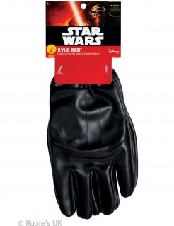 Kylo Ren-Handschuhe für Kinder Star Wars™-Accessoire schwarz