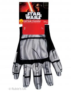 Captain Phasma™-Handschuhe Star Wars™ Accessoire silber-schwarz