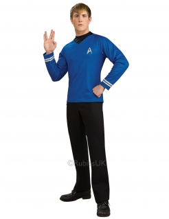 Mr. Spock-Kostüm für Männer Star Trek™ blau-silber