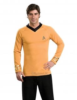 Captain Kirk-Kostüm für Herren Star Trek™-Kostüm gelb-schwarz
