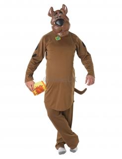 Scooby Doo™-Kostüm Faschingskostüm braun