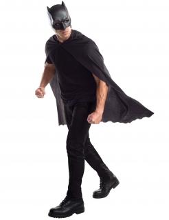 Batman™-Zubehör-Set für Herren Superhelden-Accessoire 2-teilig schwarz
