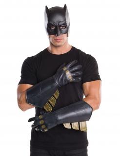 Batman™-Handschuhe für Herren Accessoire schwarz