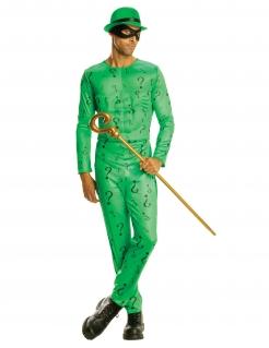 The Riddler-Kostüm aus Batman™ für Herren grün-schwarz
