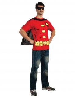 Robin™-Lizenzkostüm für Herren schwarz-rot-gelb