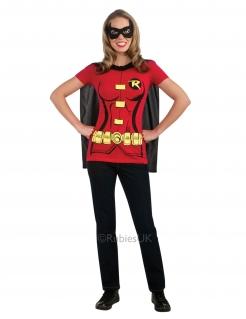 Superheld Robin™-Damenkostüm rot-schwarz-gelb