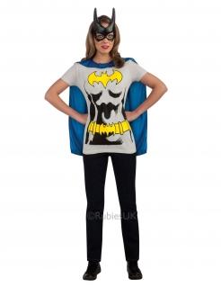 Batgirl™-Kostüm für Damen grau-gelb-blau