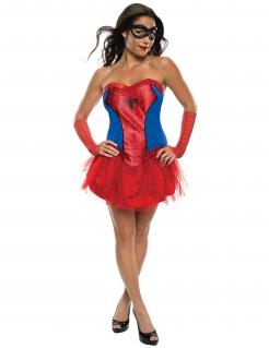 Spider-Man-Damenkostüm Marvel™ rot-blau