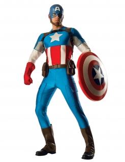 Captain America™ Herrenkostüm blau-rot-weiss