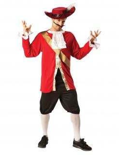 Captain Hook™-Lizenzkostüm für Erwachsene bunt