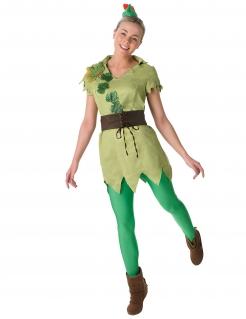 Peter Pan™-Lizenzkostüm für Damen grün-braun