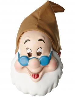 Chef-Maske Schneewittchen™ braun-weiss