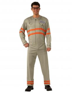 Ghostbusters™-Kostüm für Herren Kevin Faschingskostüm beige-orange