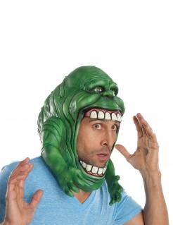 Slimer™-Maske für Halloween Ghostbusters™-Lizenzmaske grün