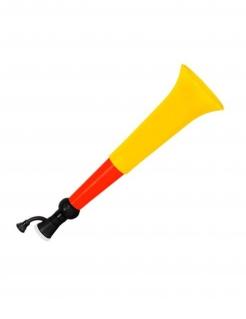 Deutschland-Tröte Fanartikel schwarz-rot-gelb 38x17x17cm