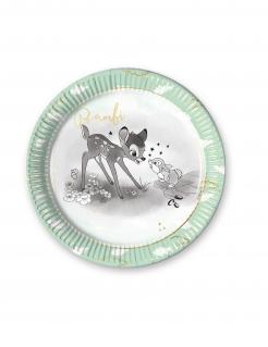 Bambi™-Pappteller-Set Disney 8 Stück bunt 23 cm