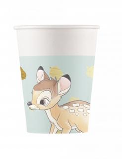 Bambi™-Pappbecher-Set 8 Stück bunt 260 ml