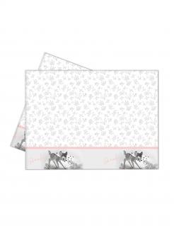 Bambi™ Tischdecke weiß-hellrosa 120 x 180 cm