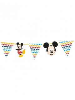 Mickey Maus™-Girlande Wimpel Raumdeko bunt 100x18cm