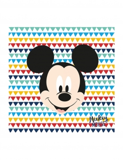 Mickey™ Papierservietten-Set 20 Stück unt 33 x 33 cm
